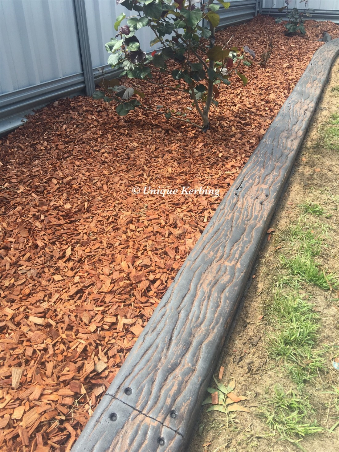 Rustic Wood Concrete Garden Edging, Kerbing near Forrestfield